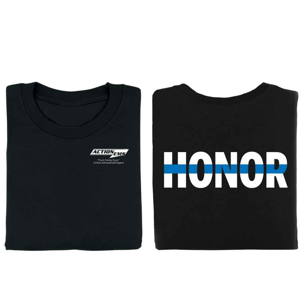 Honor Two-Sided T-Shirt - Personalized