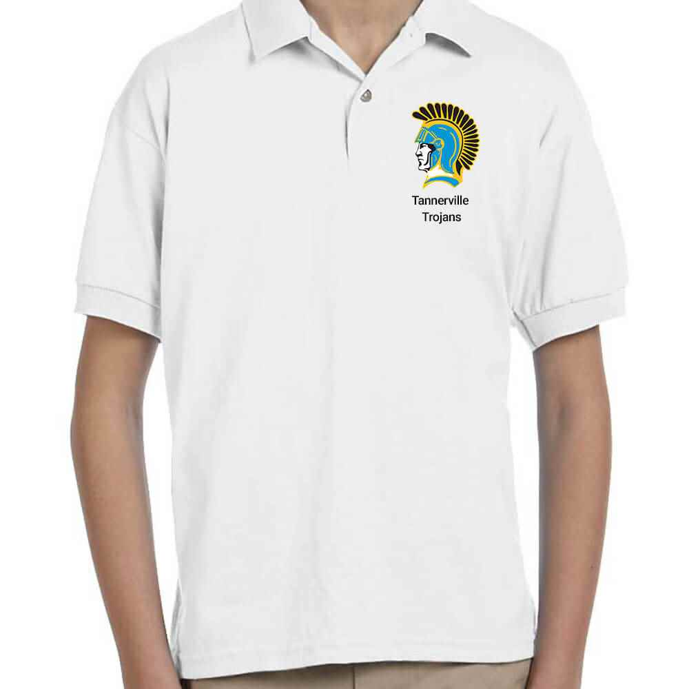 Gildan® Dryblend Youth Jersey Polo - Personalization Available