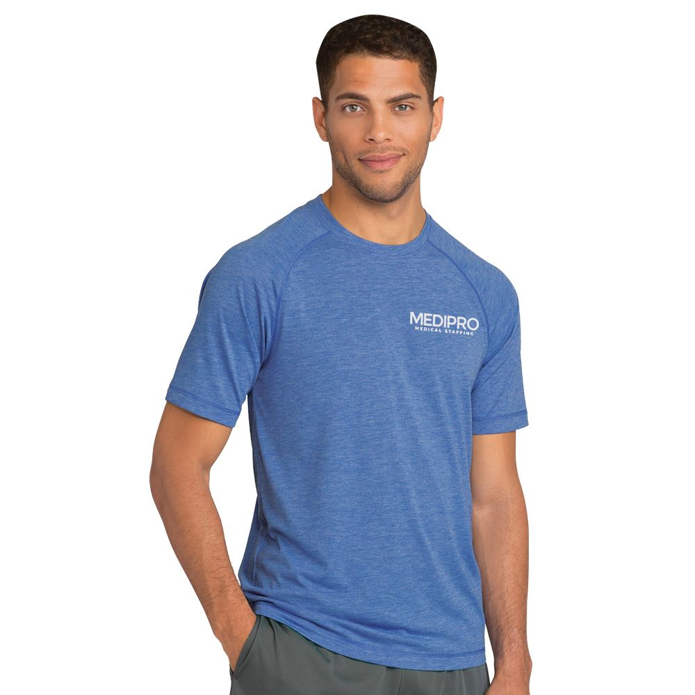 Sport-Tek® Men's PosiCharge® Tri-Blend Wicking Raglan Tee - Personalization Available