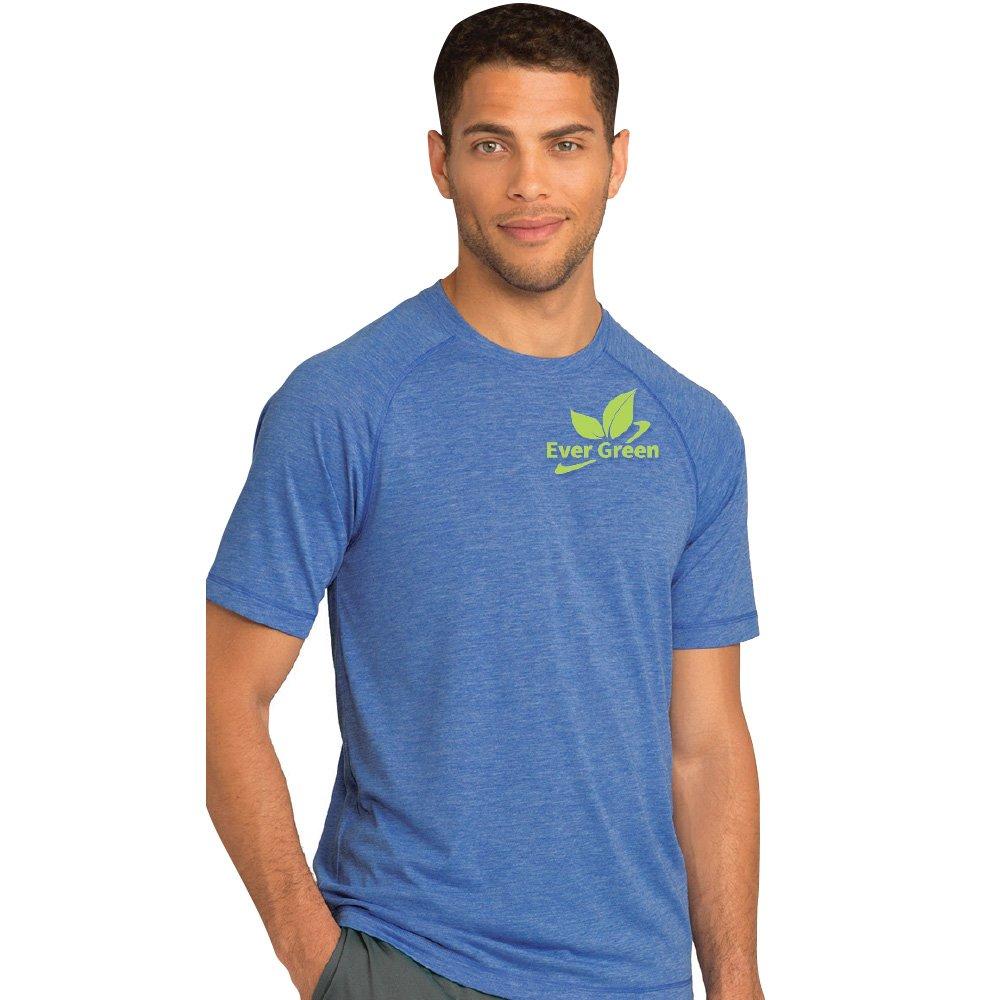 Sport-Tek® Men's PosiCharge® Tri-Blend Wicking Raglan T-Shirt - Silkscreen Personalization Available