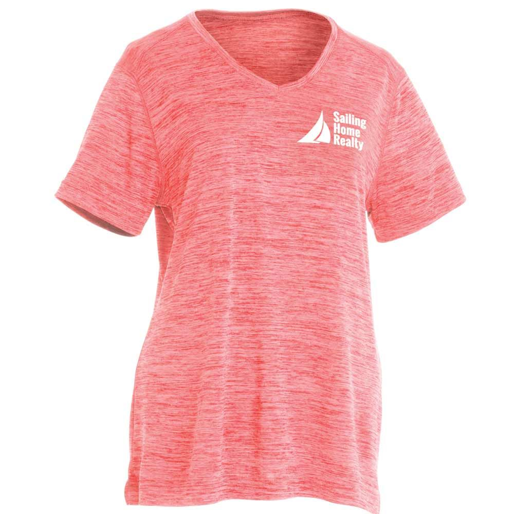 Charles River Apparel® Women's Space Dye Performance Tee - Personalization Available