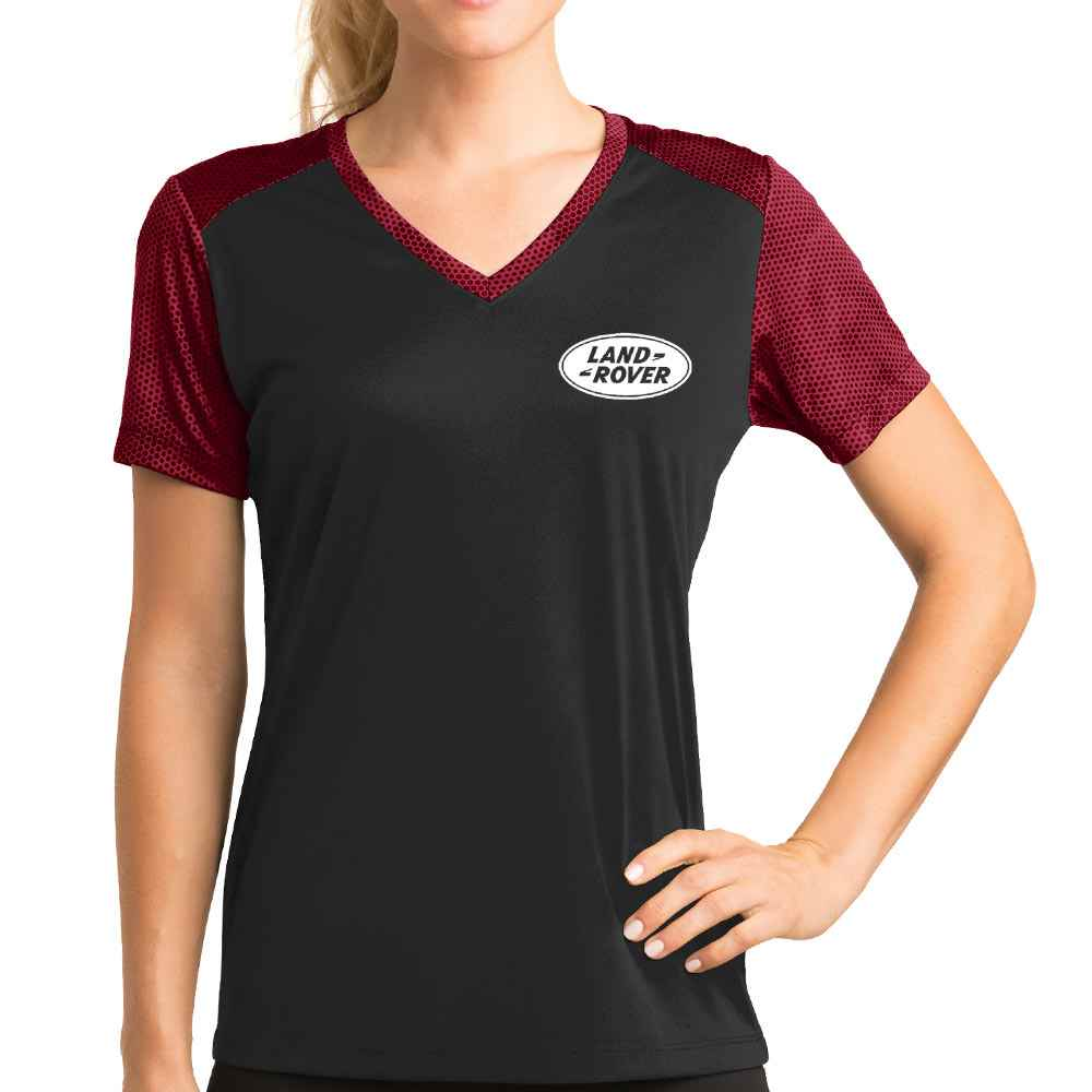 Sport-Tek® Women's CamoHex Colorblock Tee - Personalization Available
