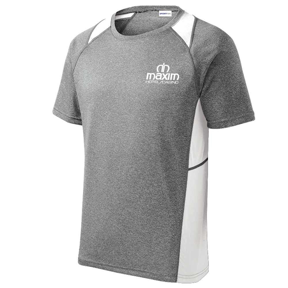 Sport-Tek® Men's Heather Contender Colorblock T-Shirt - Personalization Available