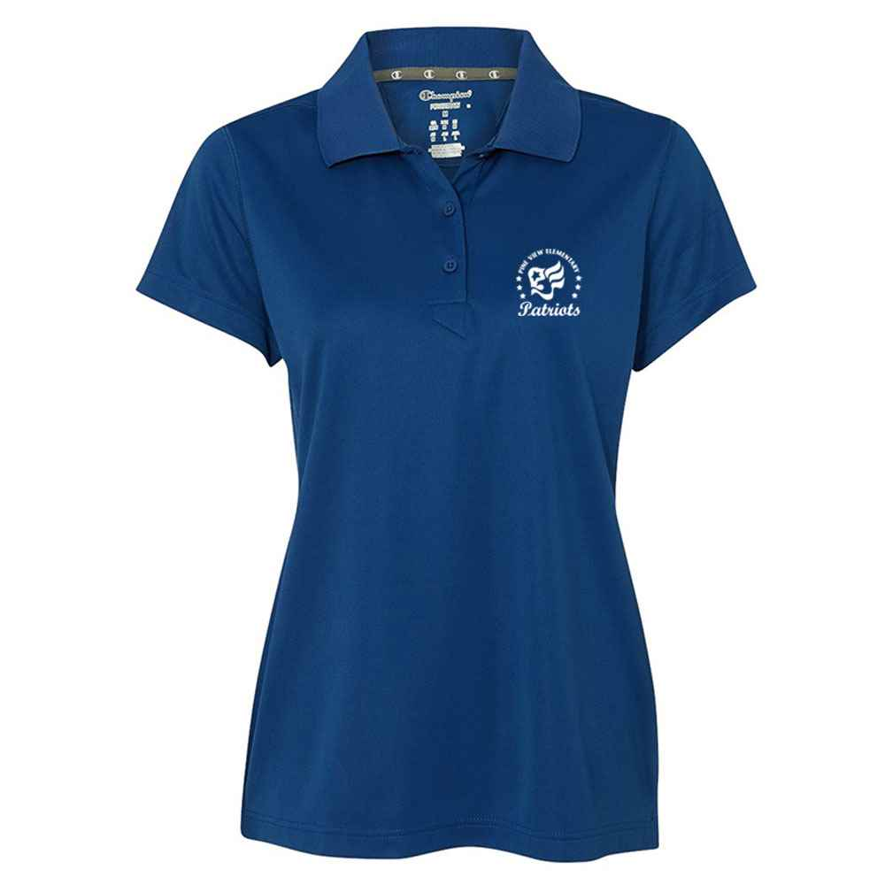 Champion® Ultimate Double Dry® Women's Performance Sport Shirt - Silkscreened Personalization Available