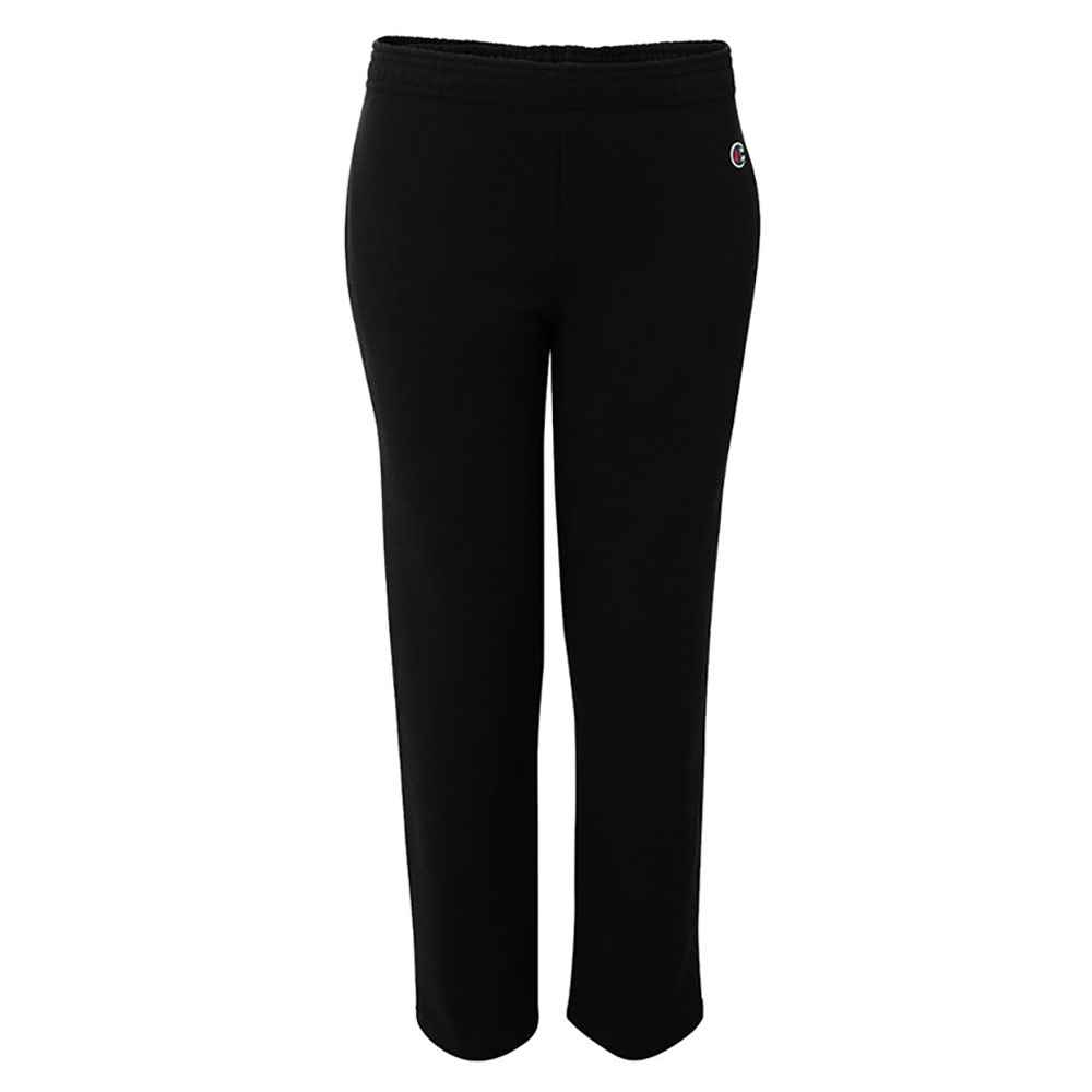 Champion® Double Dry® Eco Youth Open Bottom Sweatpants With Pockets - Personalization Available