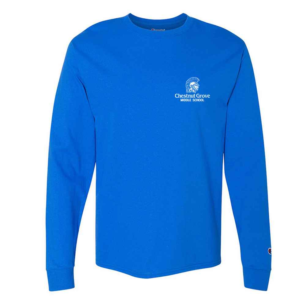 Champion® Originals Soft-Wash Long Sleeve Tee - Personalization Available