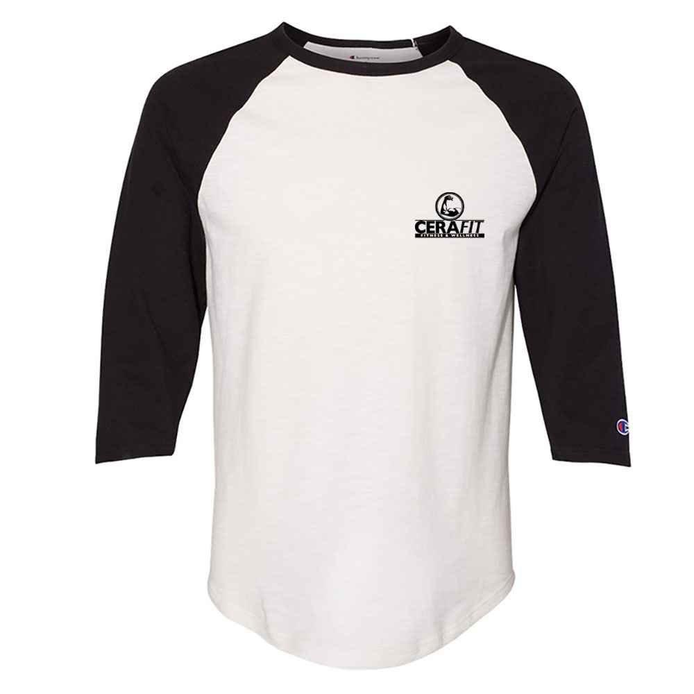 Champion® Premium Fashion Baseball T-Shirt - Personalization Available