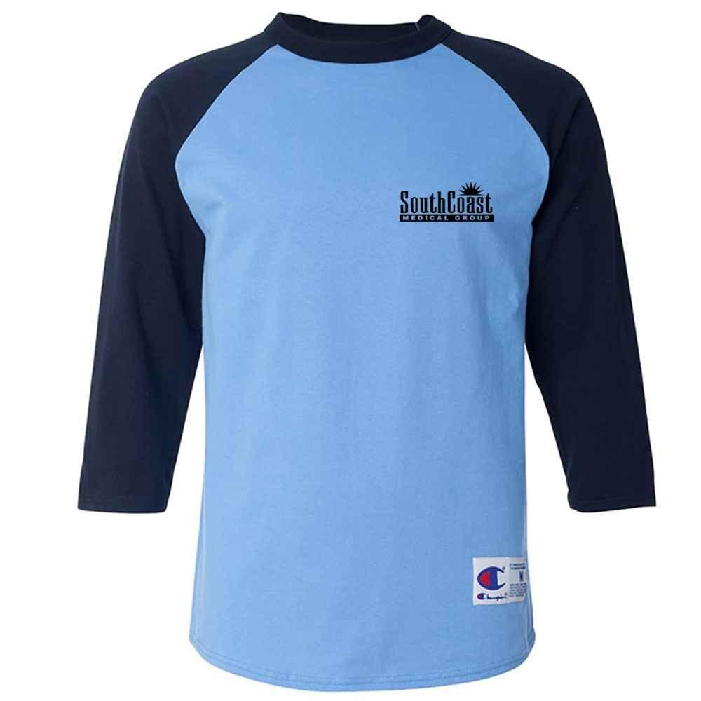 Champion® Adult Raglan Baseball T-Shirt - Silkscreened Personalization Available