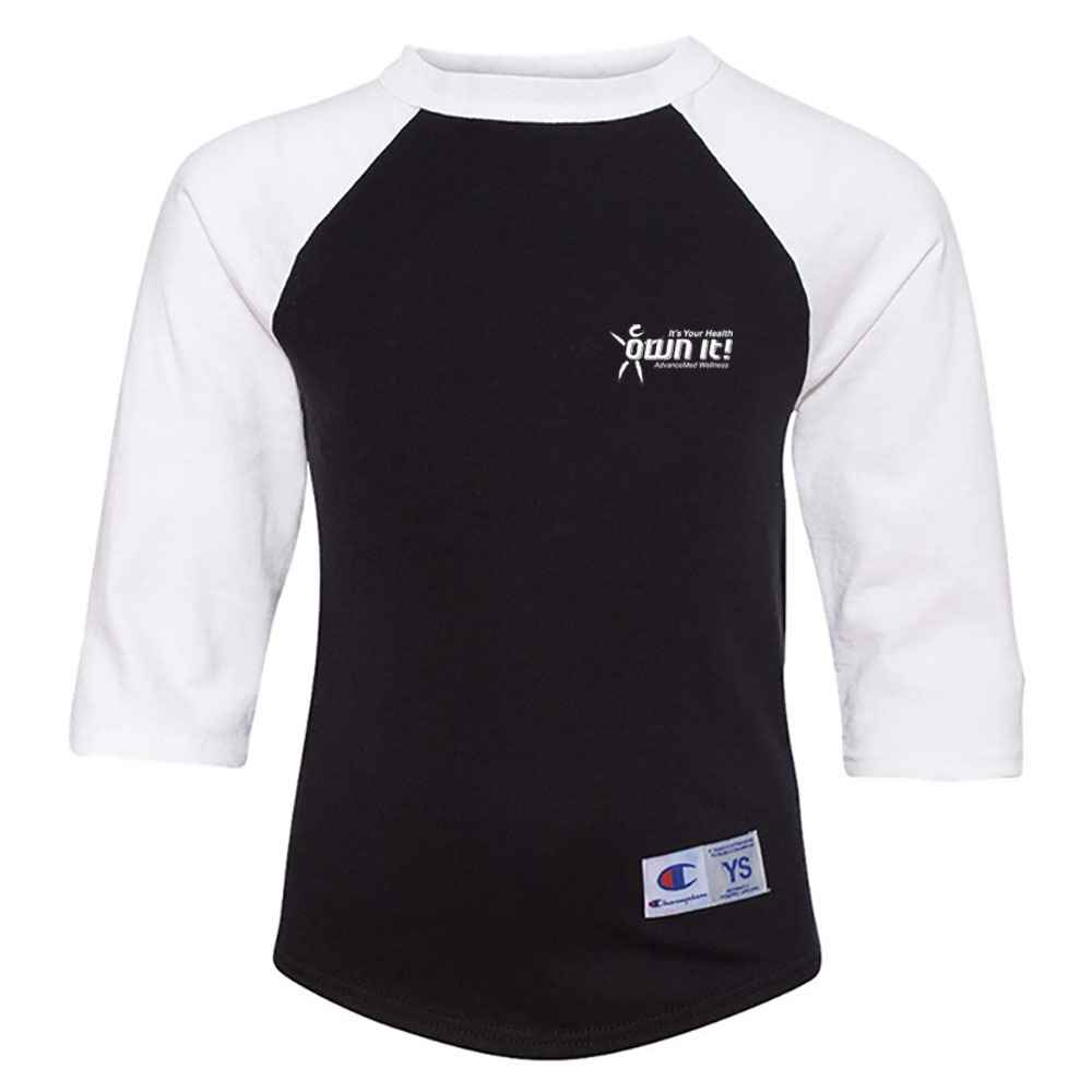 Champion® Youth Raglan Baseball T-Shirt - Personalization Available