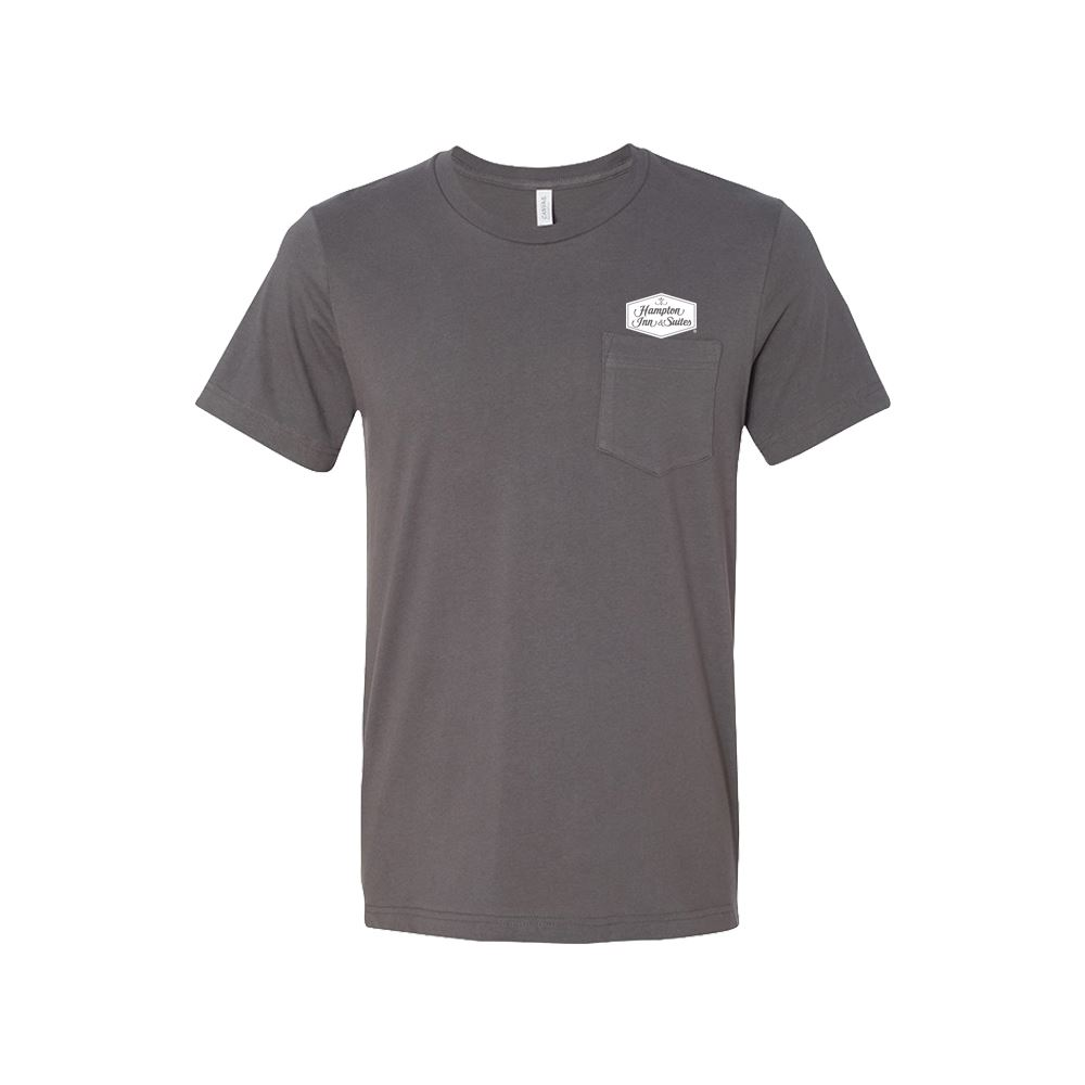 Bella + Canvas® Jersey Pocket Tee - Personalization Available