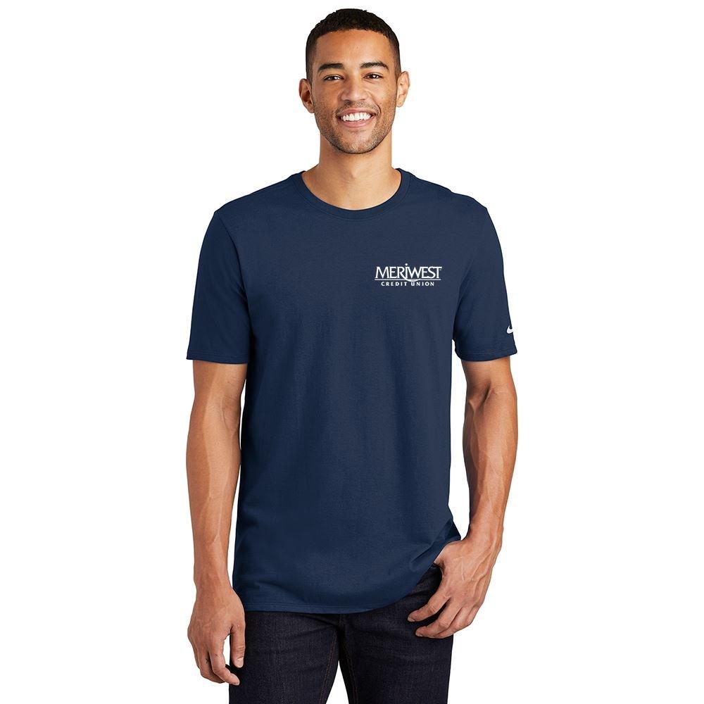 Nike® Men's Crewneck Core Cotton T-Shirt - Silkscreened Personalization Available
