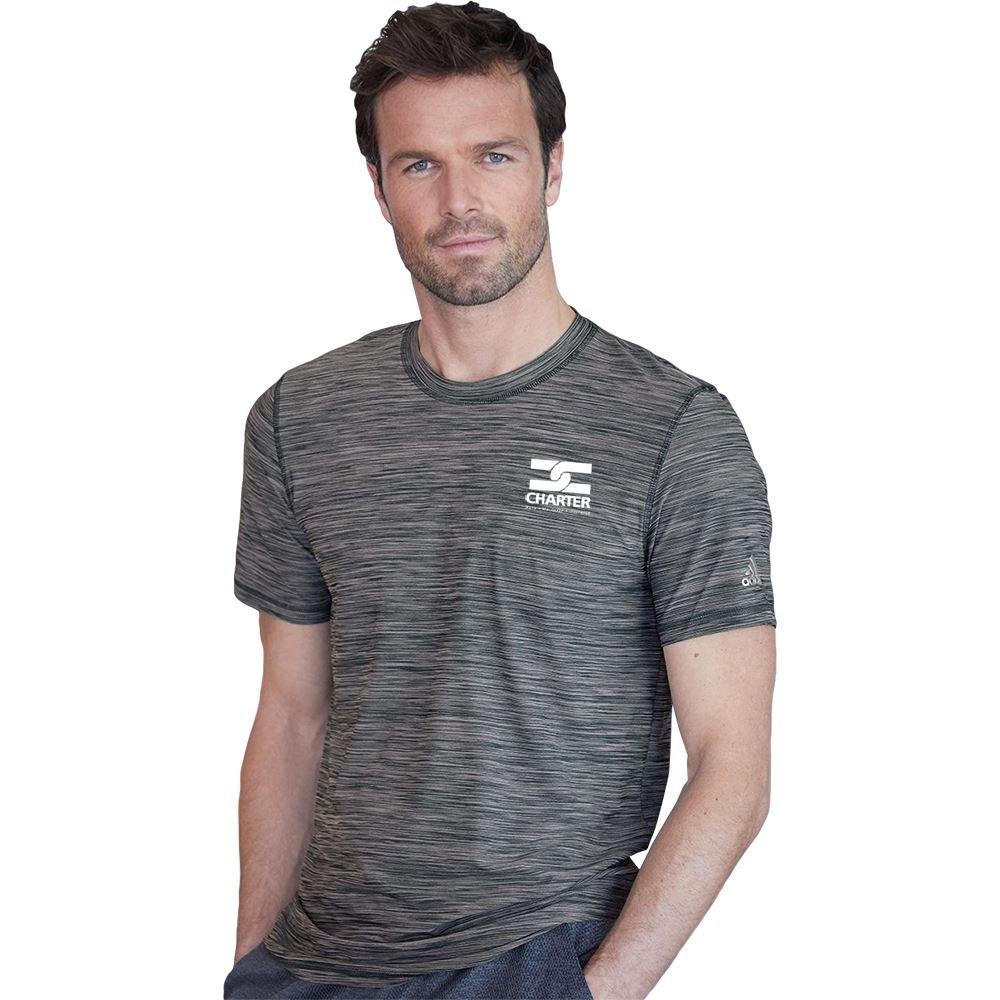 Adidas® Men's Crewneck Tech T-Shirt - Silkscreened Personalization Available