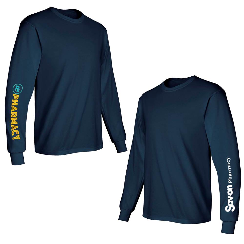 Pharmacy Rx Long-Sleeve Recognition T-Shirt/Undergarment - Personalized