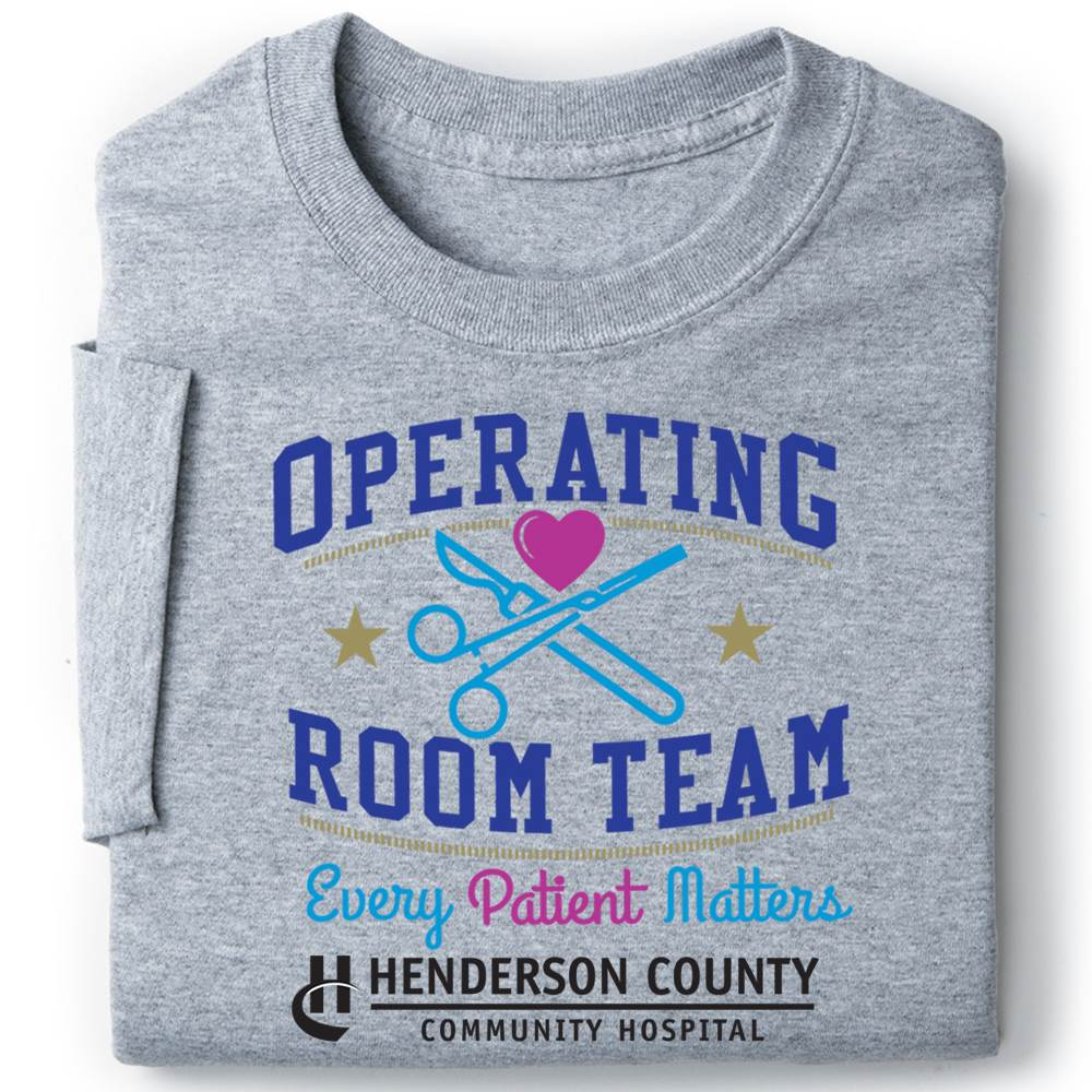 Operating Room Team: Every Patient Matters Recognition Short-Sleeve T-Shirt - Personalized