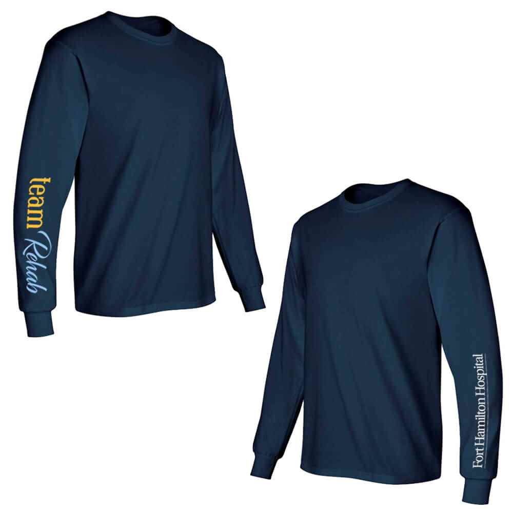 Team Rehab Long-Sleeve Recognition Underscrubs - Personalized