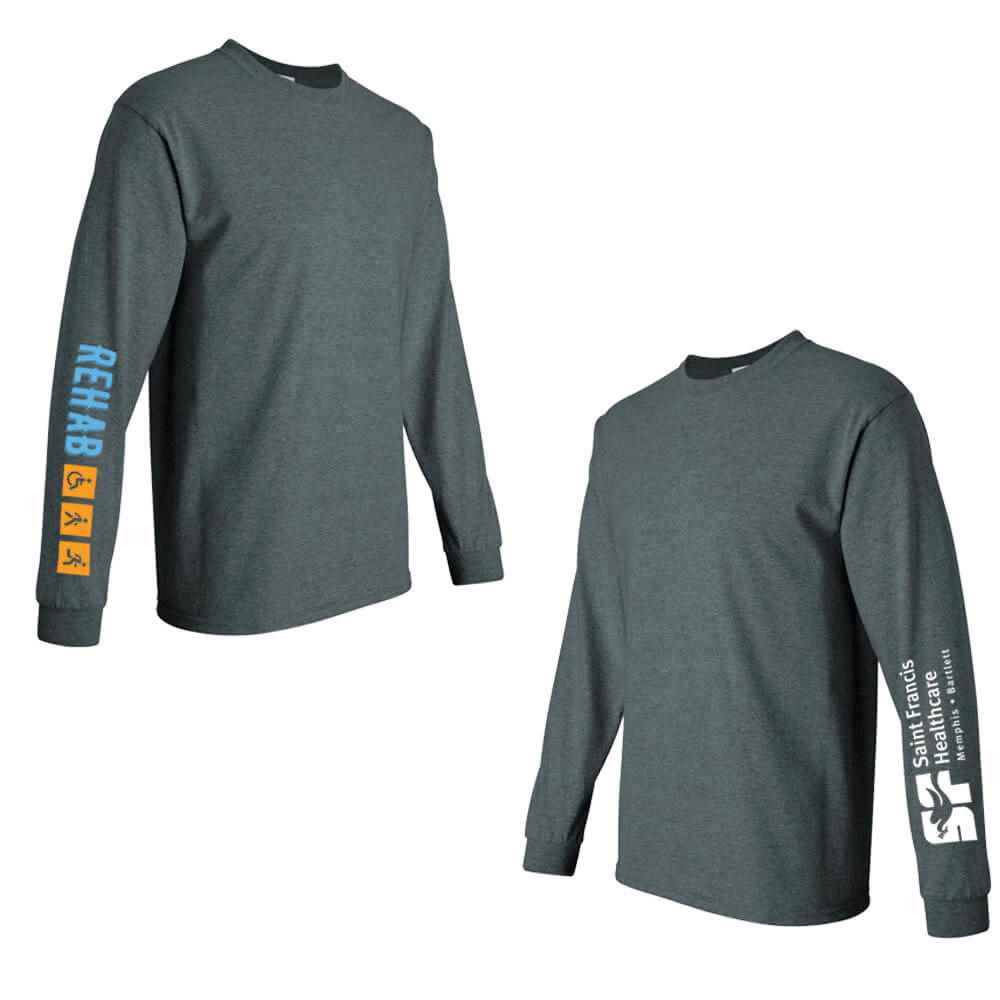 Rehab + Icons Long-Sleeve Recognition Underscrub - Personalized