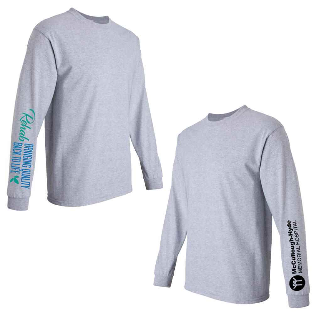 Rehab: Bringing Quality Back To Life Long-Sleeve Recognition Underscrub - Personalized