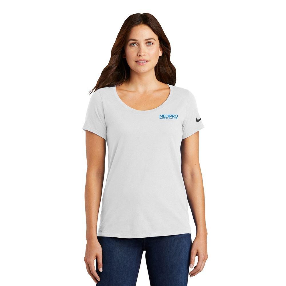 Nike Dri-FIT Scoop Neck T-Shirt
