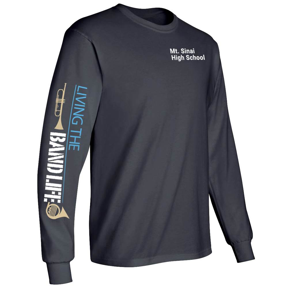 Living The Band Life Long-Sleeve Recognition T-Shirt - Personalized