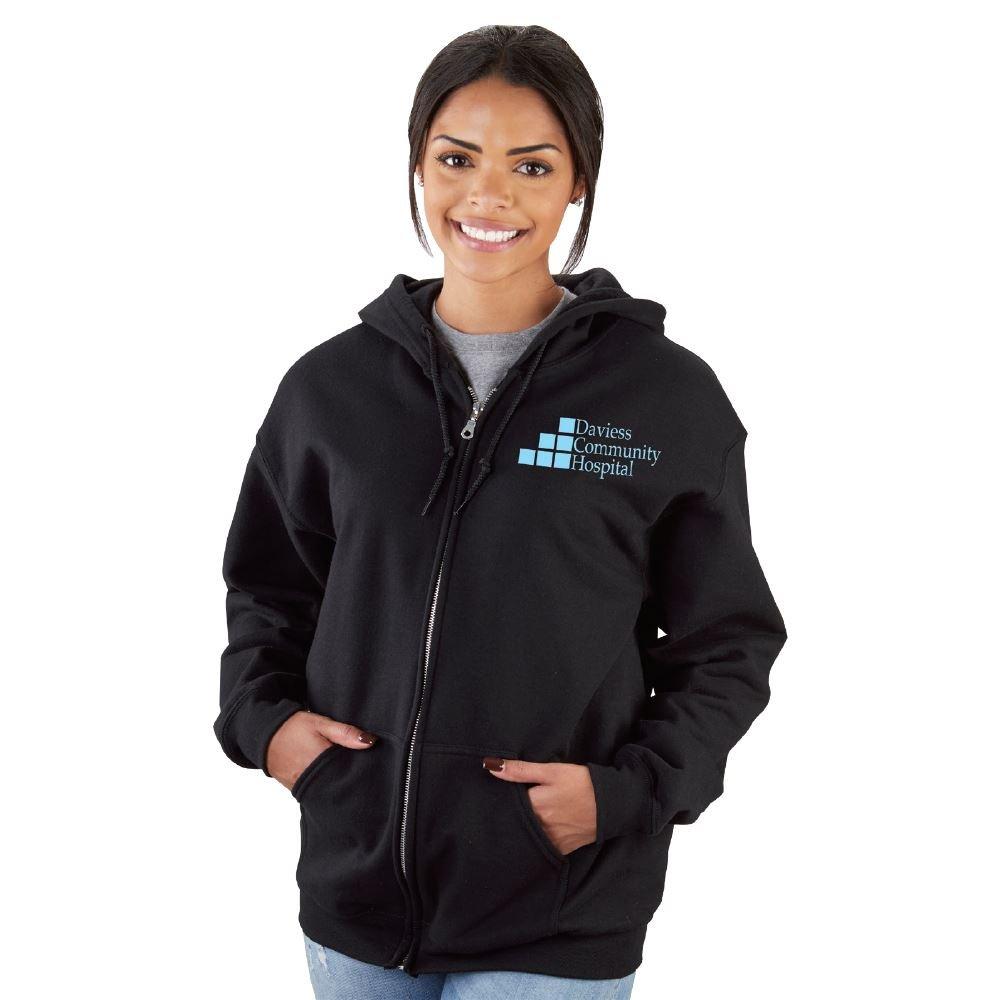 Gildan® Heavy Blend™ Full-Zip Hooded Sweatshirt Best-Selling Colors - Silkscreen Personalization Available