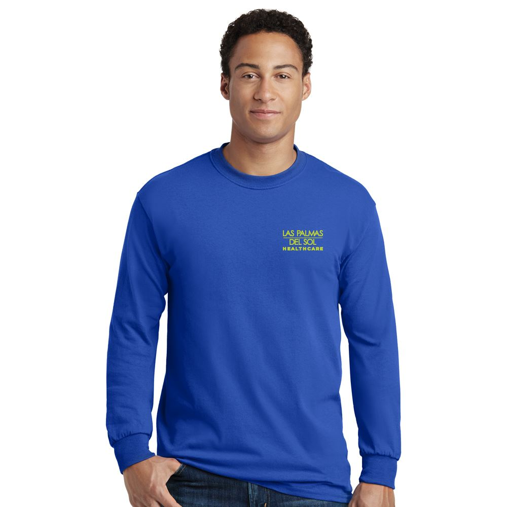 Gildan® Heavy Cotton Adult Long Sleeve T-Shirt: Best Selling Colors - Silkscreen Personalization Available