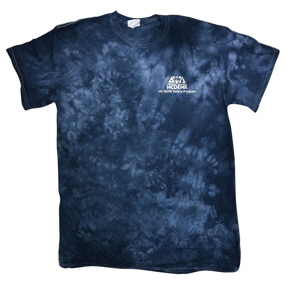 Tie Dye Smoke Texture Colors T-Shirt- Silkscreen Personalization Available