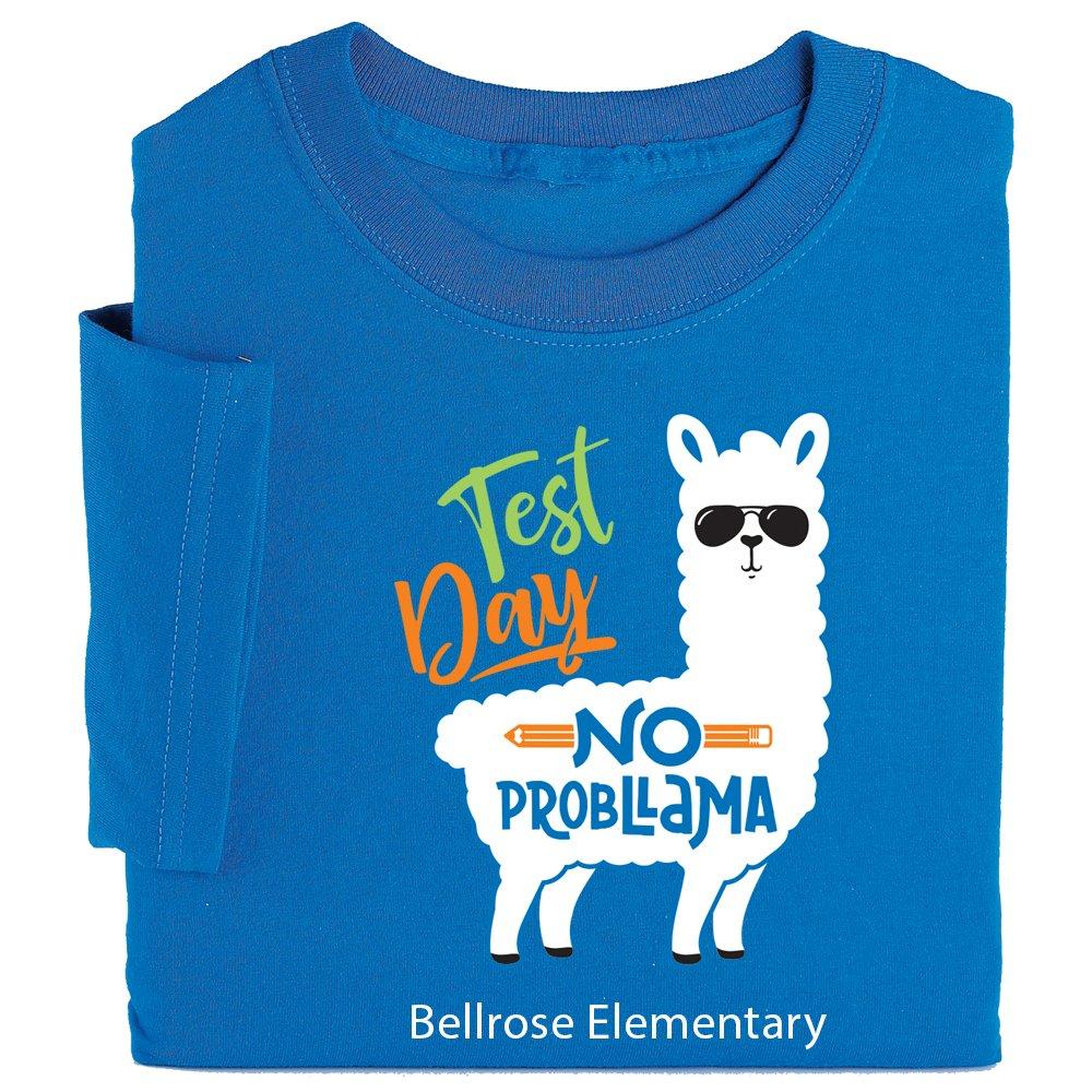 Test Day No Probllama Youth T-Shirt