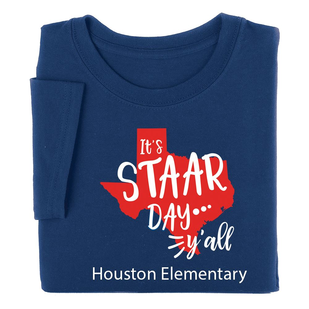 It's STARR Day Y'All Youth Positive T-Shirts - Personalization Available