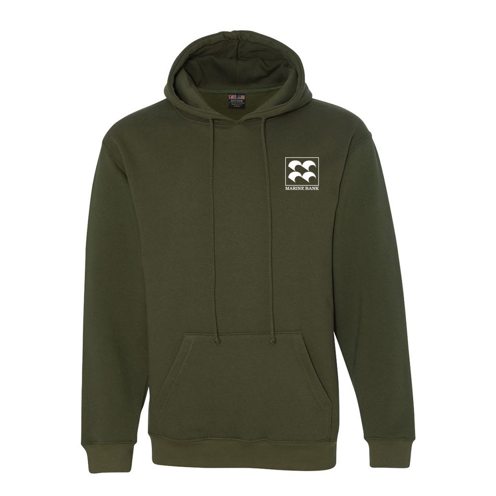 Bayside - USA-Made Hooded Sweatshirt - Personalization Available