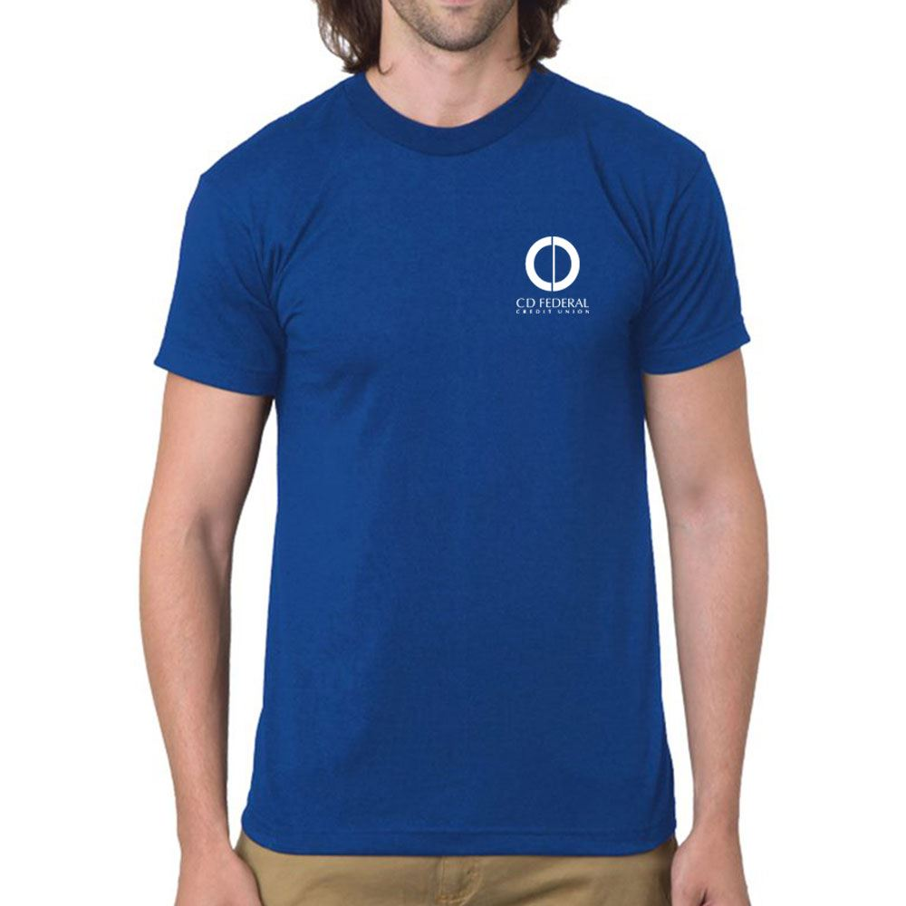 Bayside - USA-Made 50/50 Short Sleeve T-Shirt - Personalization Available
