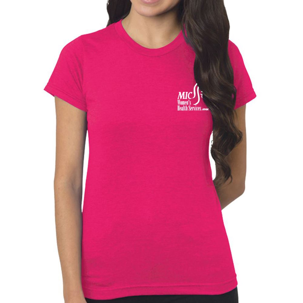 Bayside - Women's USA-Made Fine Jersey Tee - Personalization Available