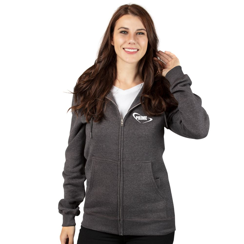 Threadfast Apparel Unisex Ultimate Fleece Full-Zip Hooded Sweatshirt - Personalization Available