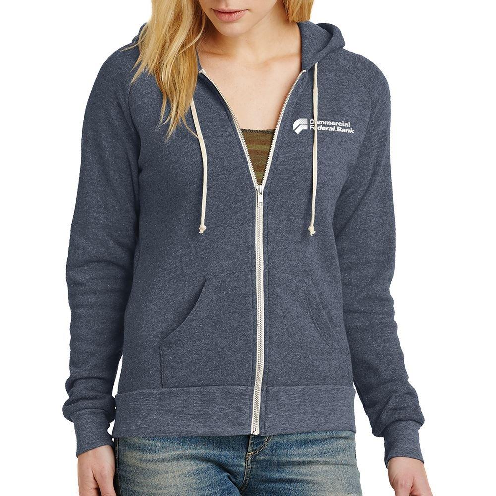 Alternative Women's Adrian Eco™-Fleece Zip Hoodie - Personalization Available
