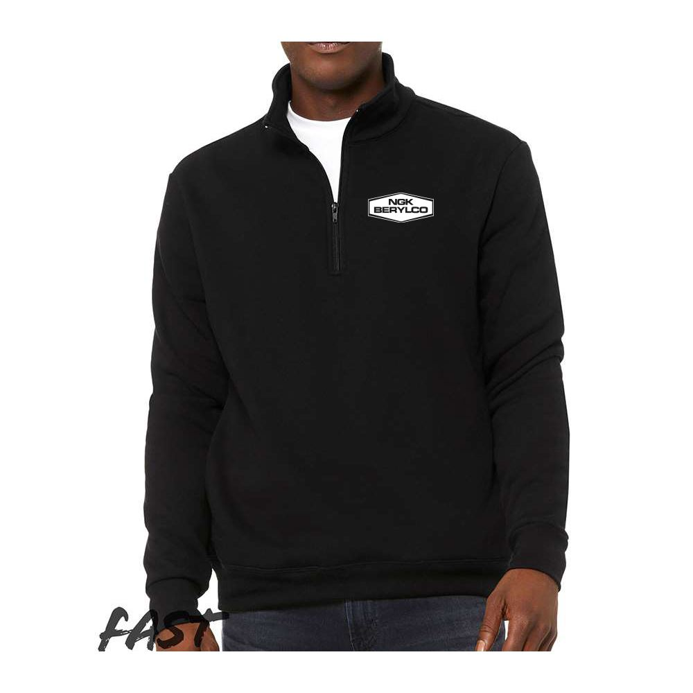 Bella + Canvas® Unisex Quarter Zip Pullover Fleece - Personalization Available