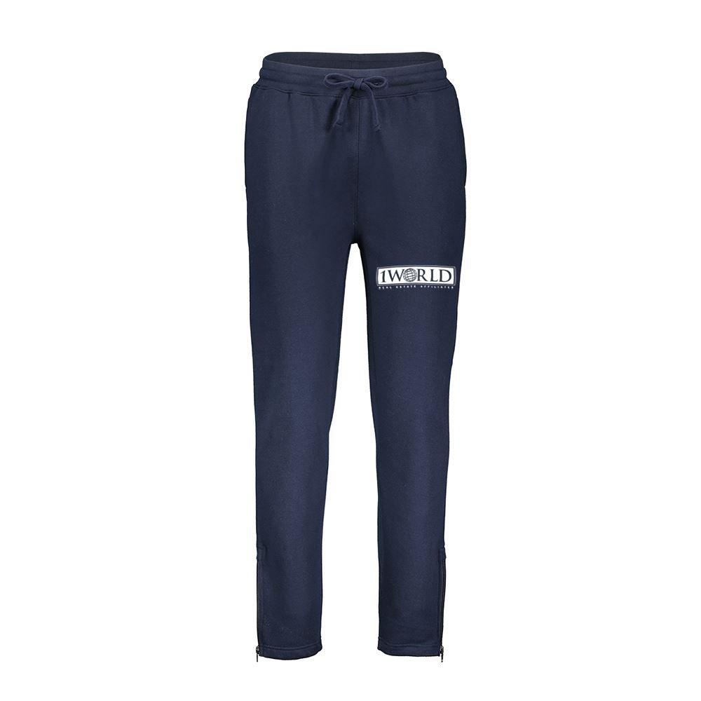 MV Sport® Men's Pro Weave Zip Bottom Sweatpants - Personalization Available