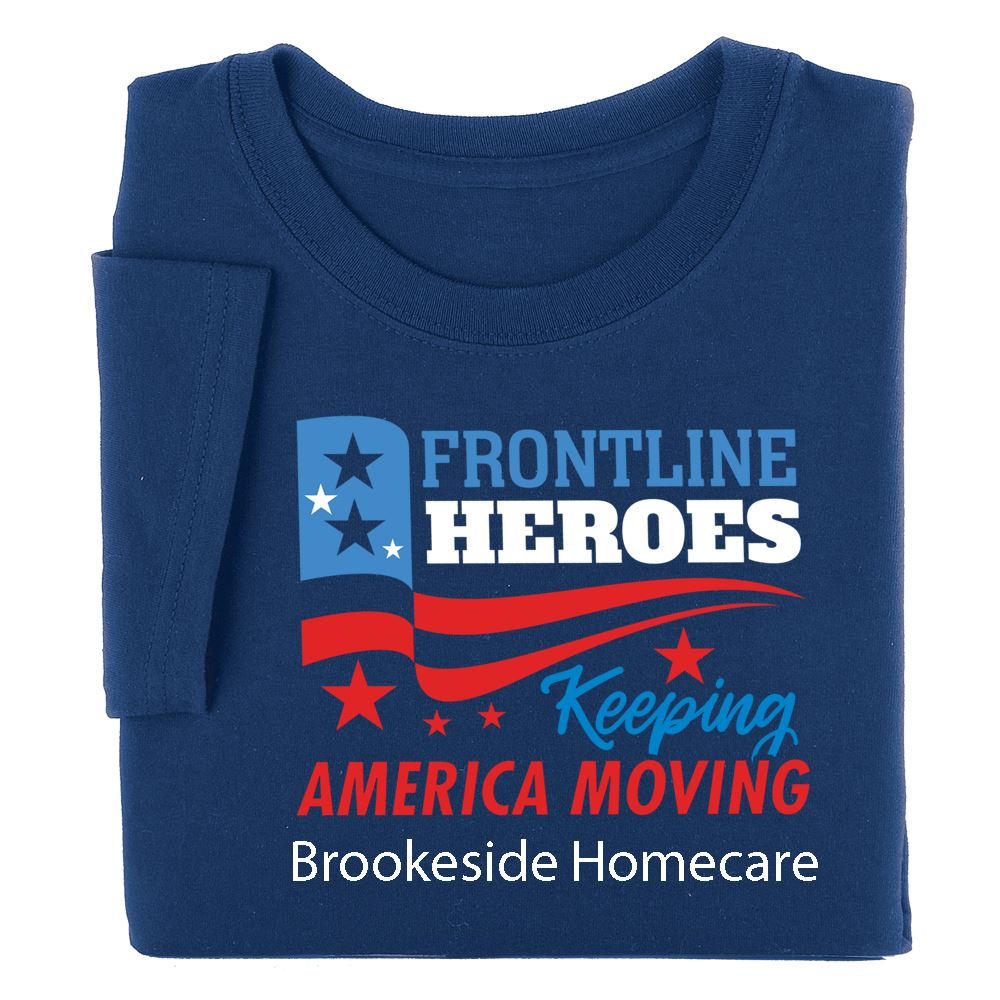 Proud To Keep America Going T-Shirt - Personalization Available