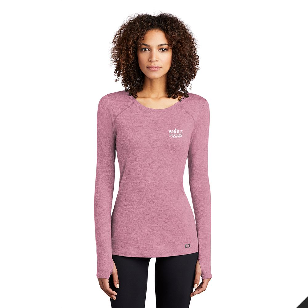 OGIO® Endurance Women's Force Long Sleeve Tee - Personalization Available