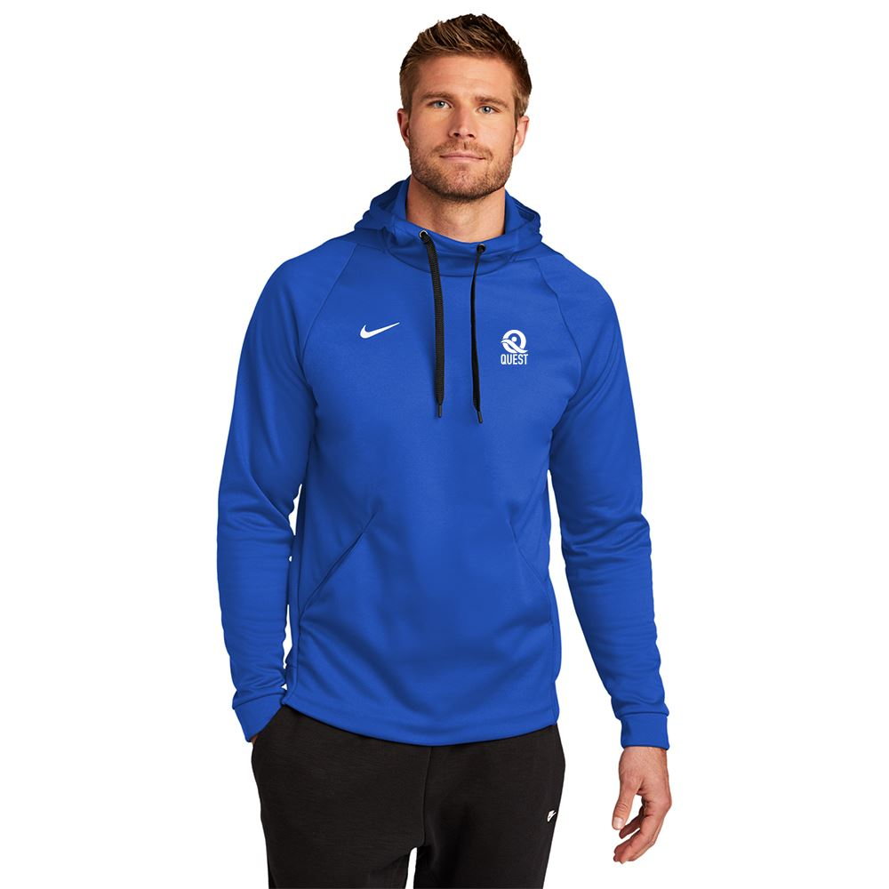 Nike Therma-Fit Pullover Fleece Hoodie - Screenprinted Personalization Available