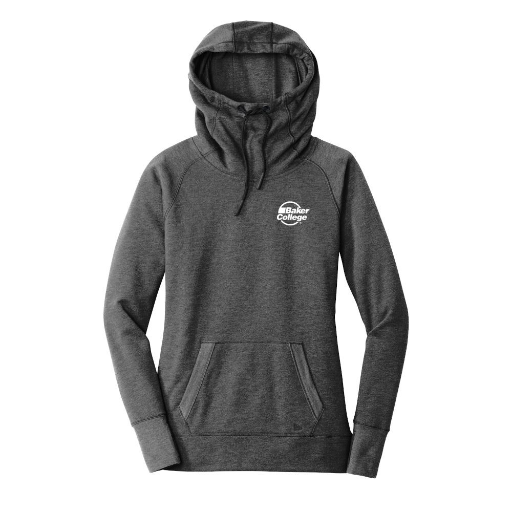 New Era® Women's Tri-Blend Fleece Pullover Hoodie - Screenprint Personalization Available