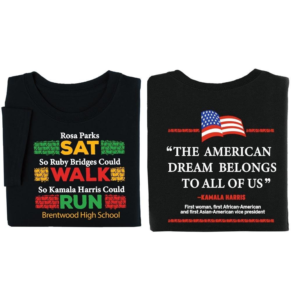 Kamala Harris Adult T-Shirt - Personalization Available