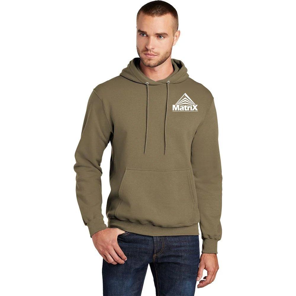 Port & Company ® Unisex Core Pullover Hooded Sweatshirt