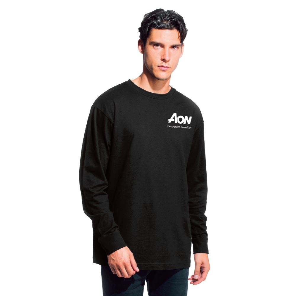 Positive Wear Unisex Long Sleeve Essential Tee - Silkscreened Personalization Available