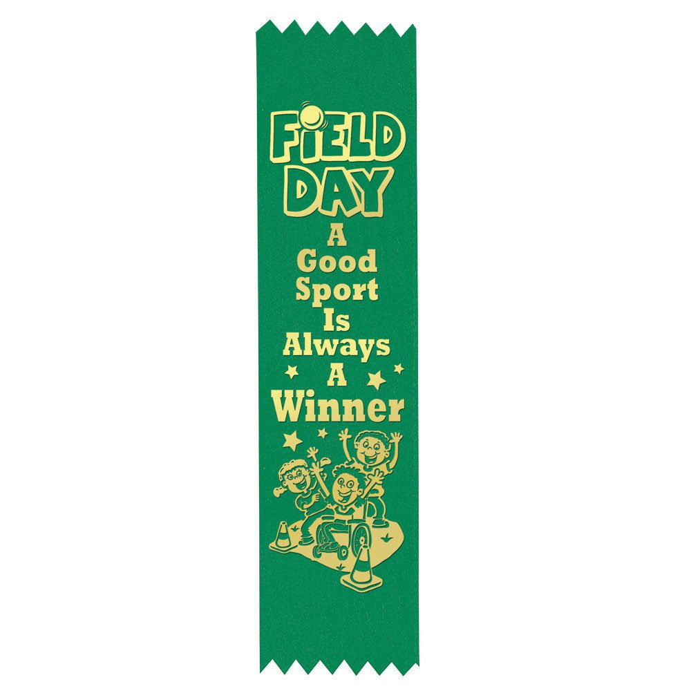 Field Day A Good Sport Is Always A Winner Participant Ribbons - Pack of 100
