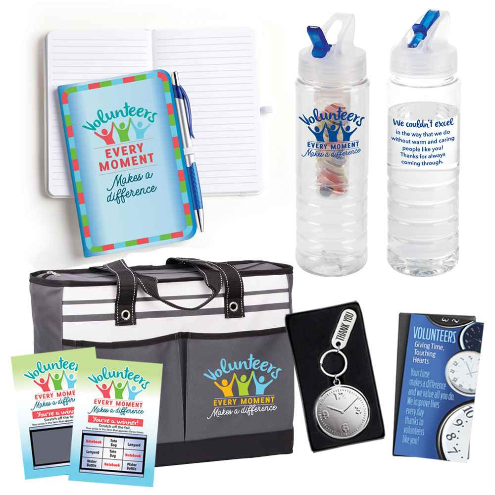 Volunteers: Every Moment Makes A Difference Scratch & Win Value Pack
