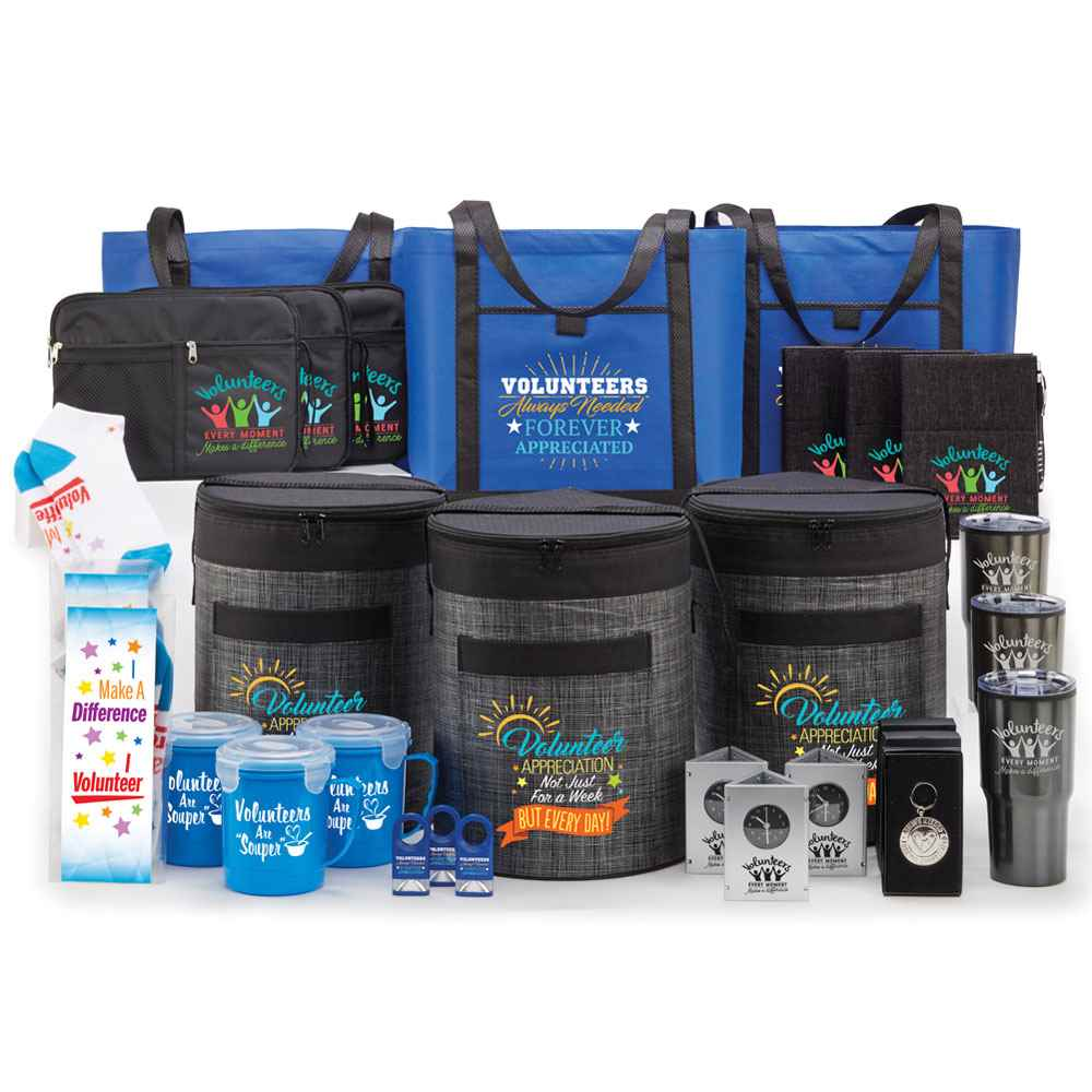 555371e8 Volunteers 50-Gift Deluxe Value Pack | Positive Promotions