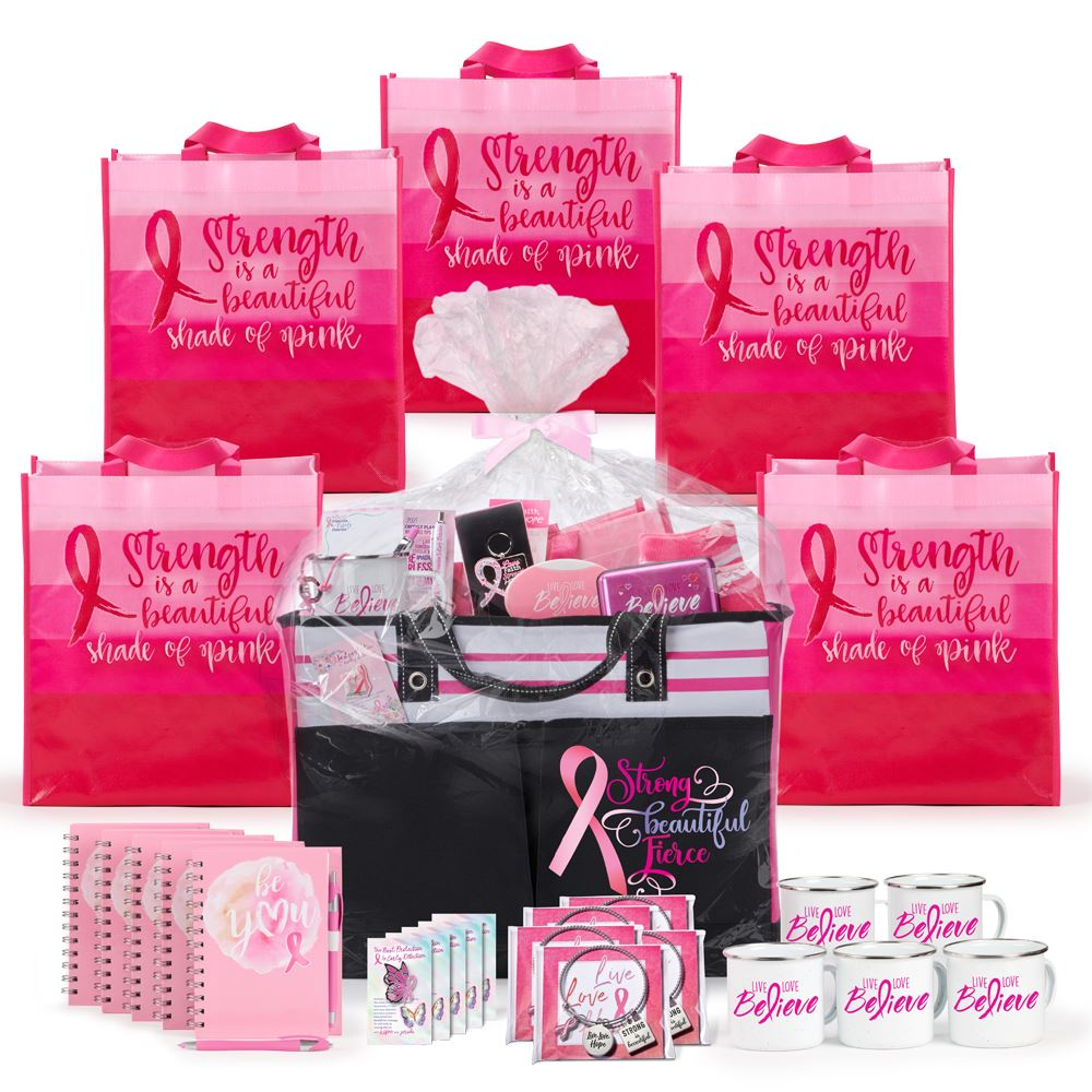 Breast Cancer Awareness 51-Gift Budget Raffle Pack