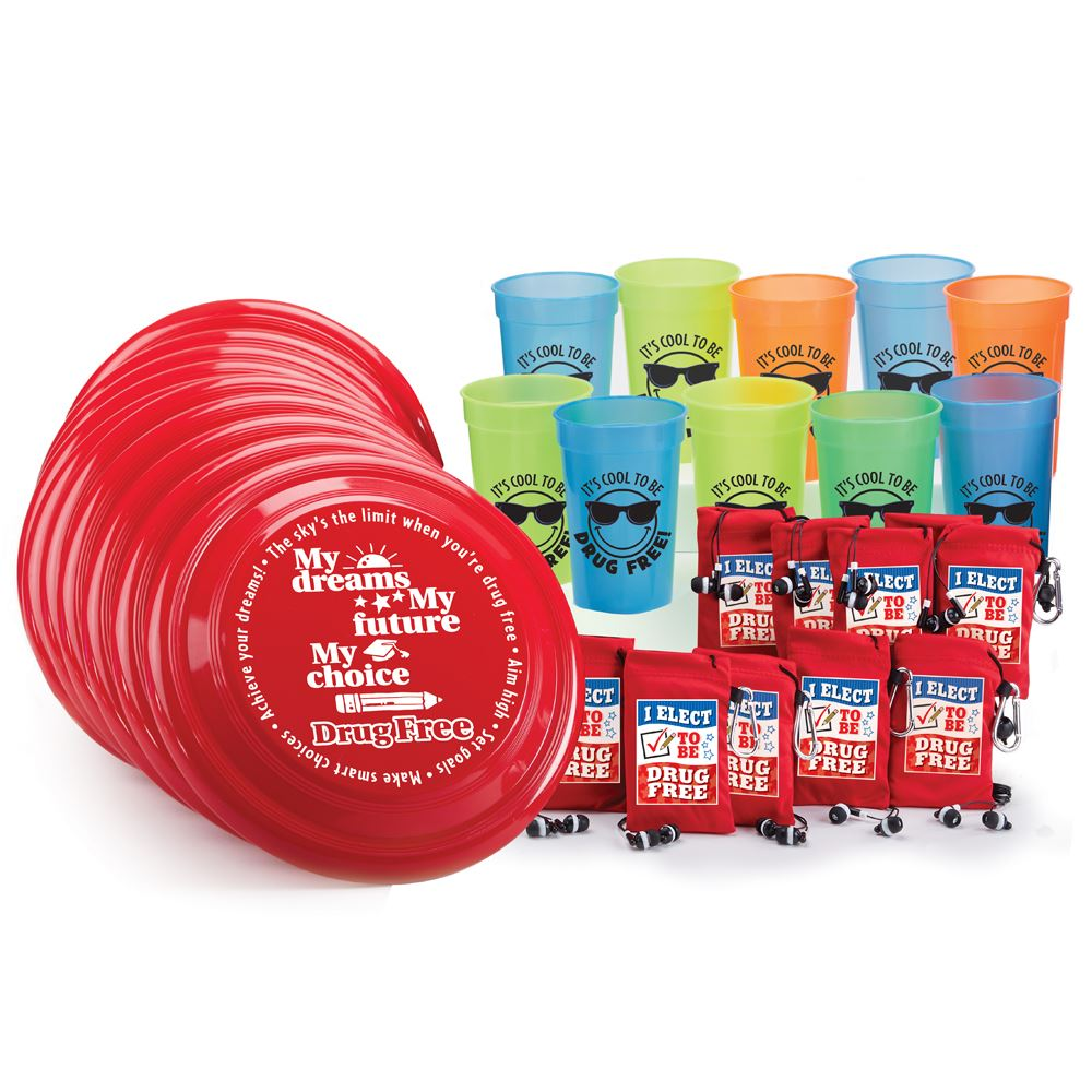 Red Ribbon 30-Piece Raffle/Value Pack
