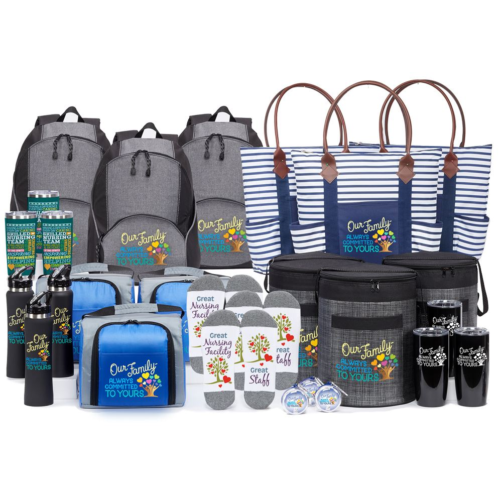 Our Family: Always Committed To Yours 27-Gift Raffle/Value Pack