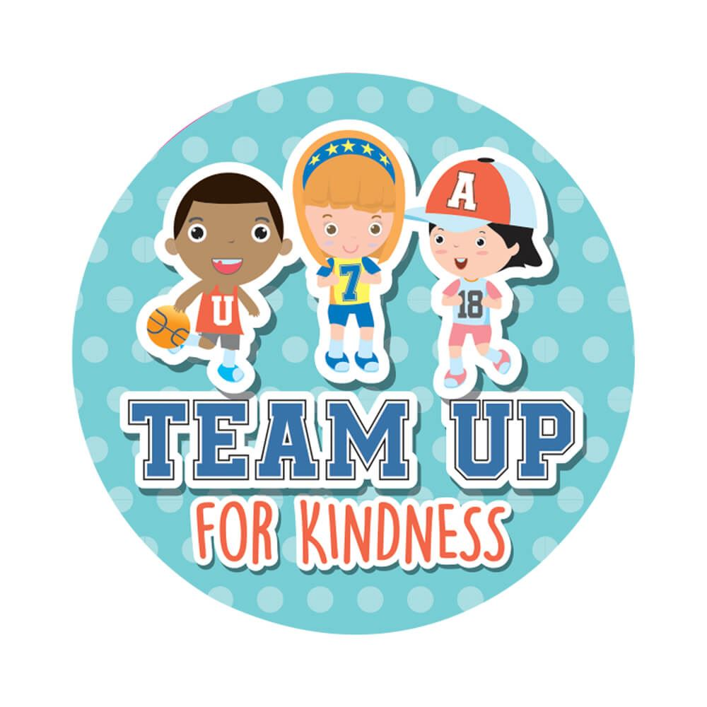 Team Up For Kindness Sticker