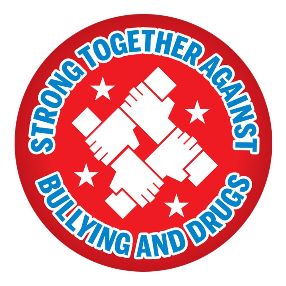 Strong Together Against Bullying And Drugs Theme Day Stickers